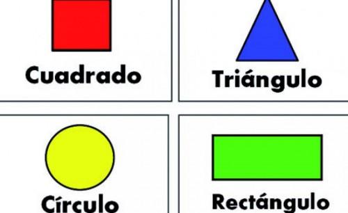 Cancion de las formas y figuras geometricas