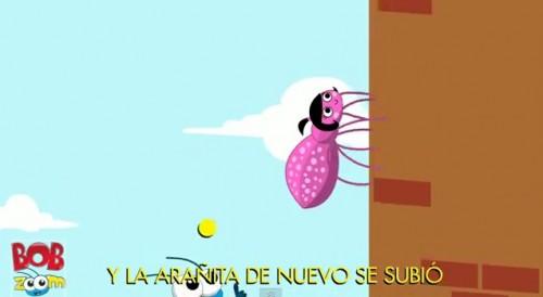 araña e1352495474683 La arañita chiquita