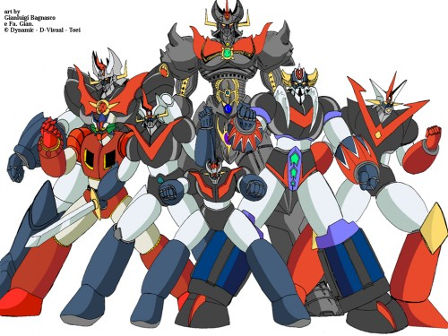 mazinger team big e1351809936272 Tema musical de Mazinger Z