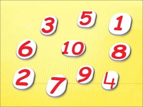 Los números del 1 al 10 e1354835733162 Los números del 1 al 10