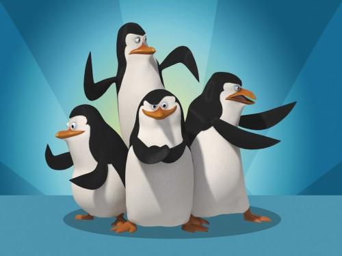 pinguinos de madagascar e1358269466386 El tema musical de los pingüinos de Madagascar