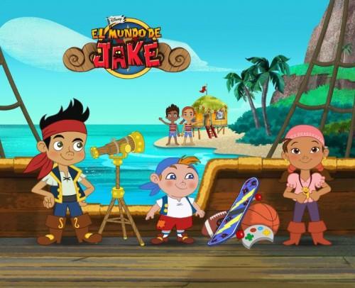 Jake y los piratas de nunca jamas e1362777313373 Enrolla el mapa