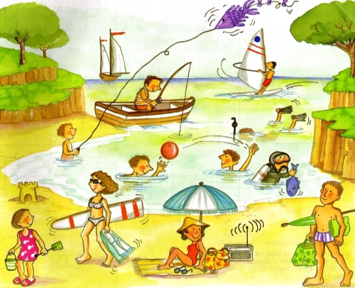 verano para niños