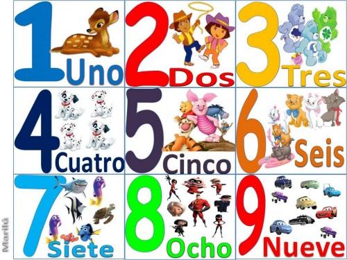 NUMEROS  e1371551165983 Canción educativa Los números