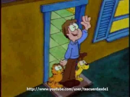 Garfield y sus amigos, Odie el camionero
