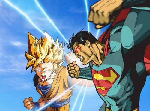 superman vs goku by xikinight e1378822954776 Superman vs Goku