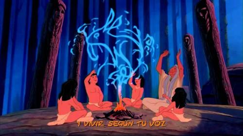 Pocahontas- como el ritmo del tambor