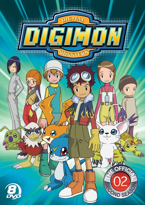 Digimon02DVD1 Canción de Digimon 02