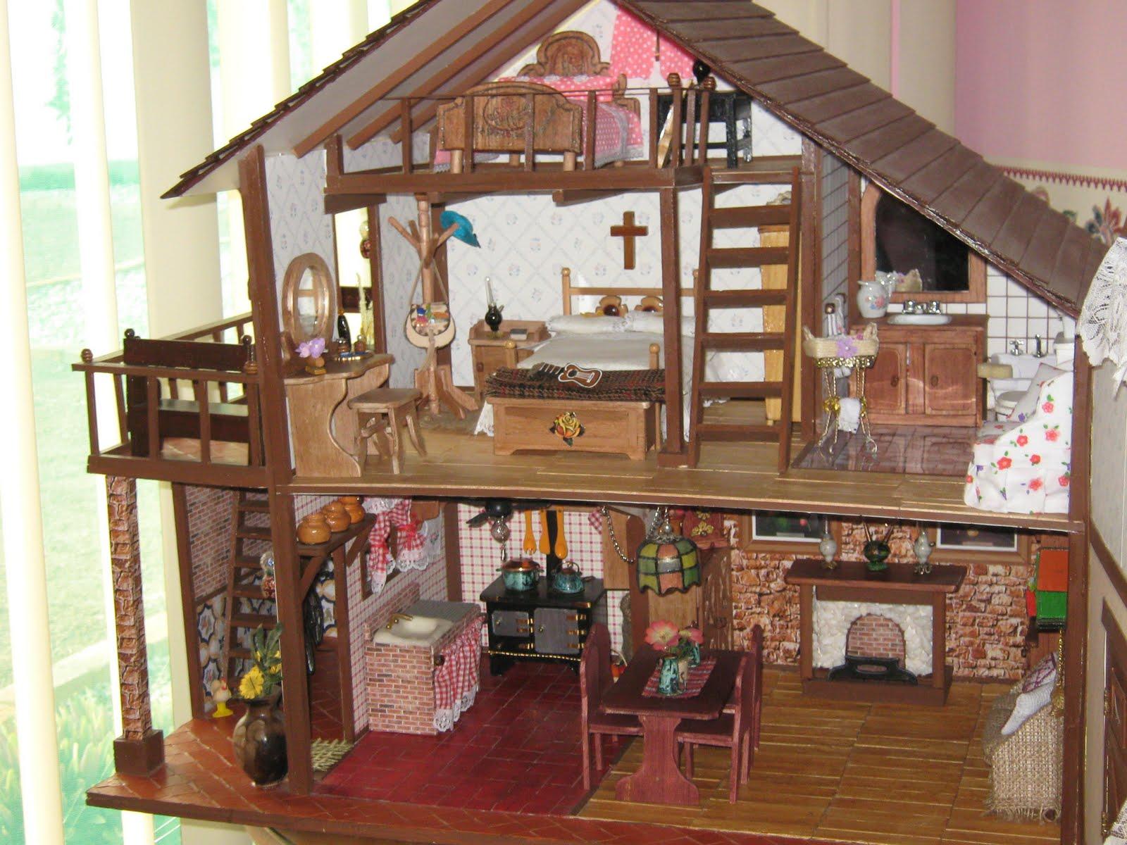 Regala a la princesa de tu hogar una adorable casa de for Muebles casa de munecas