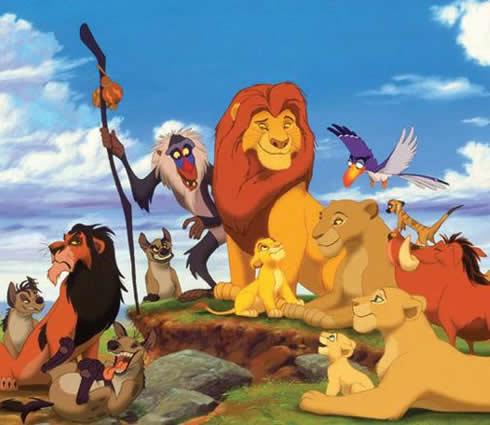 Canciones infantiles del rey leon