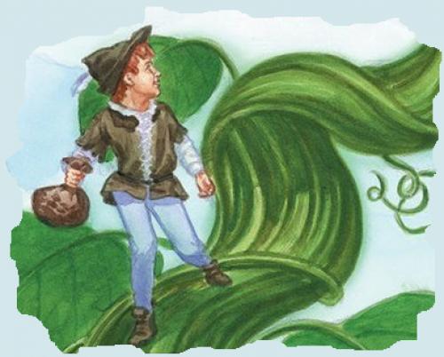 Cuento infantil de Jack y las semillas mágicas