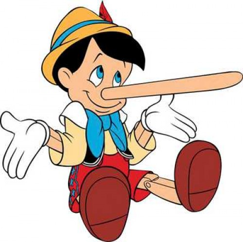 Vamos a contar mentiras