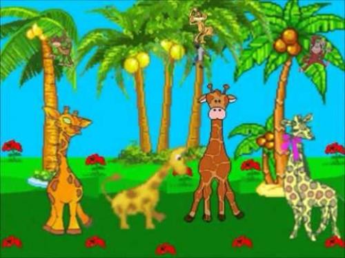 La jirafa resfriada