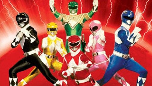 Power Rangers mithing morfin