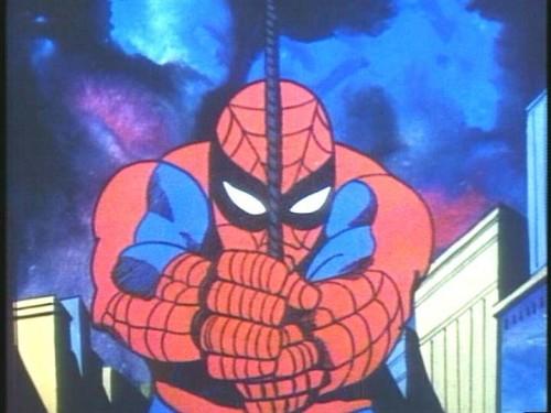 El tema musical de Spiderman (80s)