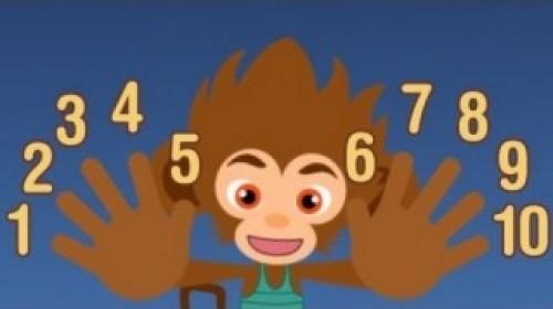 Monito números del 1 al 10