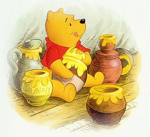 Winnie the Pooh y el árbol de la miel