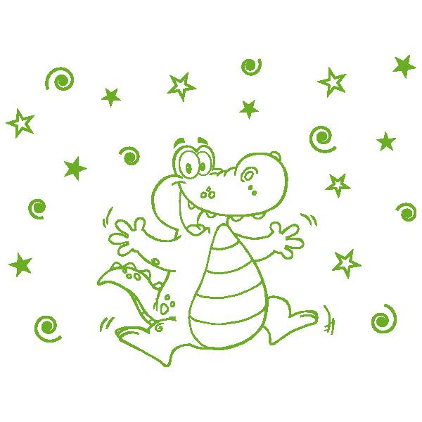 cocodrilo infantil