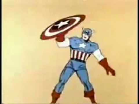 CAPTAIN AMERICA Cartoon Intro
