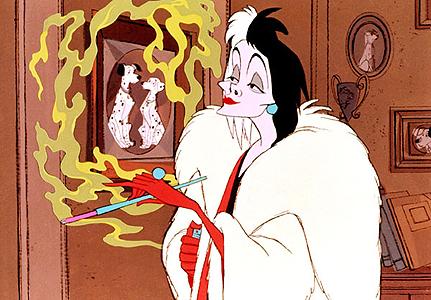 Cruella De Vil - 101 dalmatas
