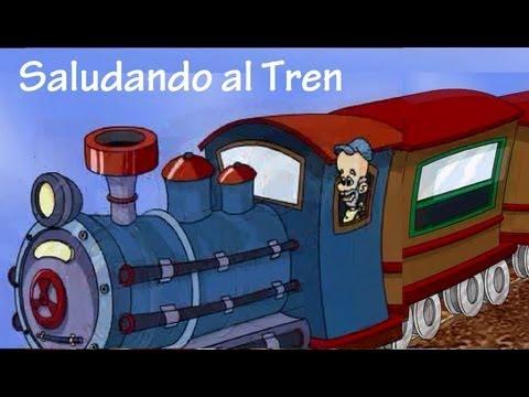 Saludando al Tren