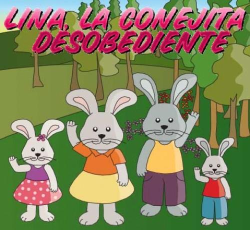 Lina la Conejita desobediente