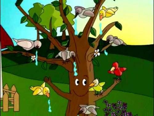Cuento para niños- El viejo Árbol