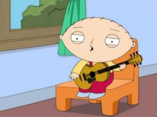 Stewie compone una canción