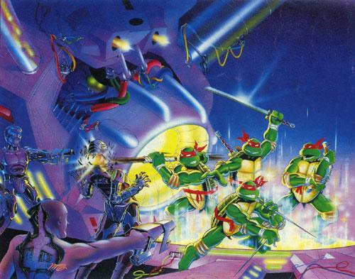 Tema musical de las tortugas Ninjas para NES