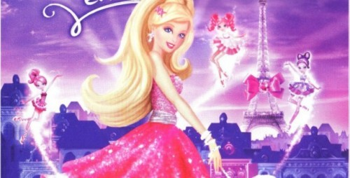 Barbie moda mágica en Paris