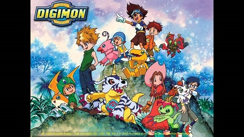 Canción intro de Digimon