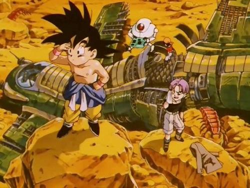 Canción final de Dragon Ball Gt